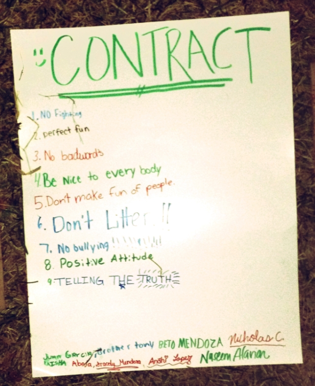 Ground Rules Contract